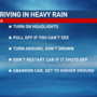 Tips for driving safely in severe weather