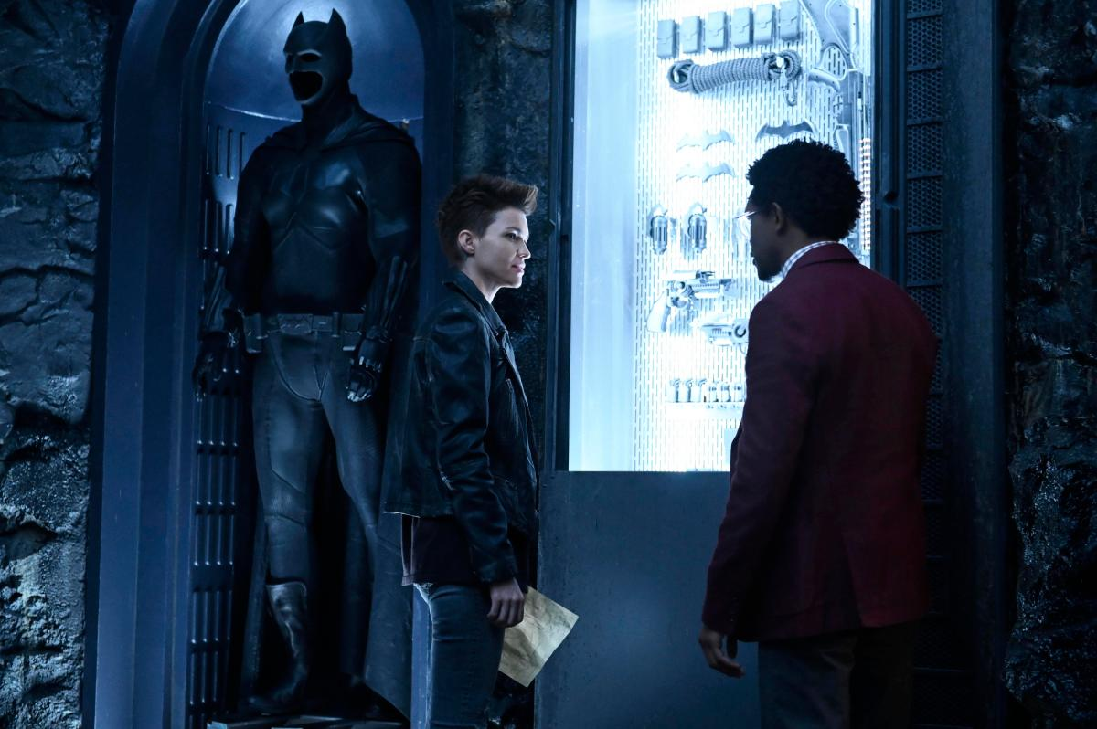 Ruby Rose as Kate Kane and Camrus Johnson as Luke Fox, coming this fall (The CW/ Kimberly French)