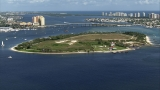 Algae found at Peanut Island, red flag warnings going up