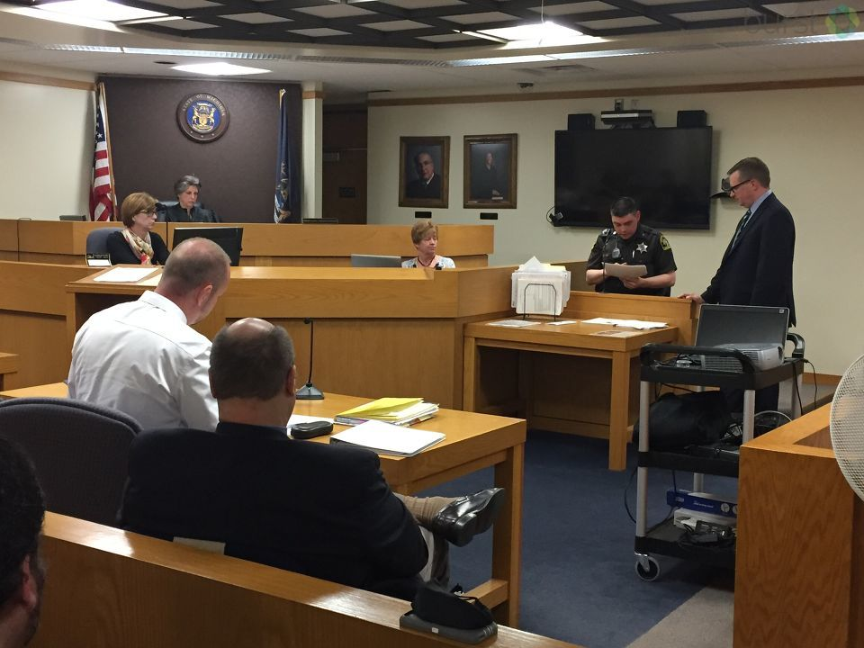 A disturbing video was shown during a hearing Tuesday for three teens in Lapeer who are accused of plotting a mass murder attack. This hearing will determine if there is enough evidence to send the case to trial.  (Photo: /WEYI/WSMH)