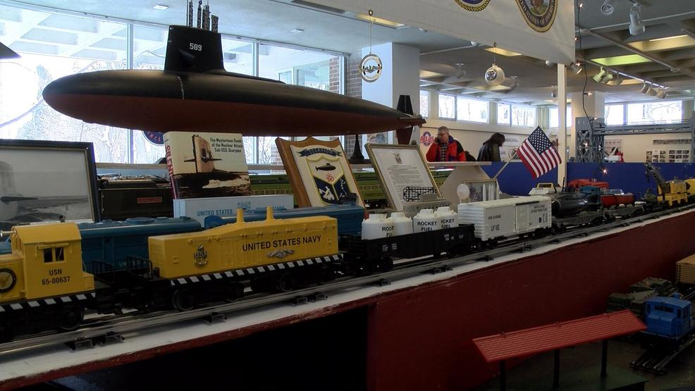 Submarine at train show raises questions    and that's kind