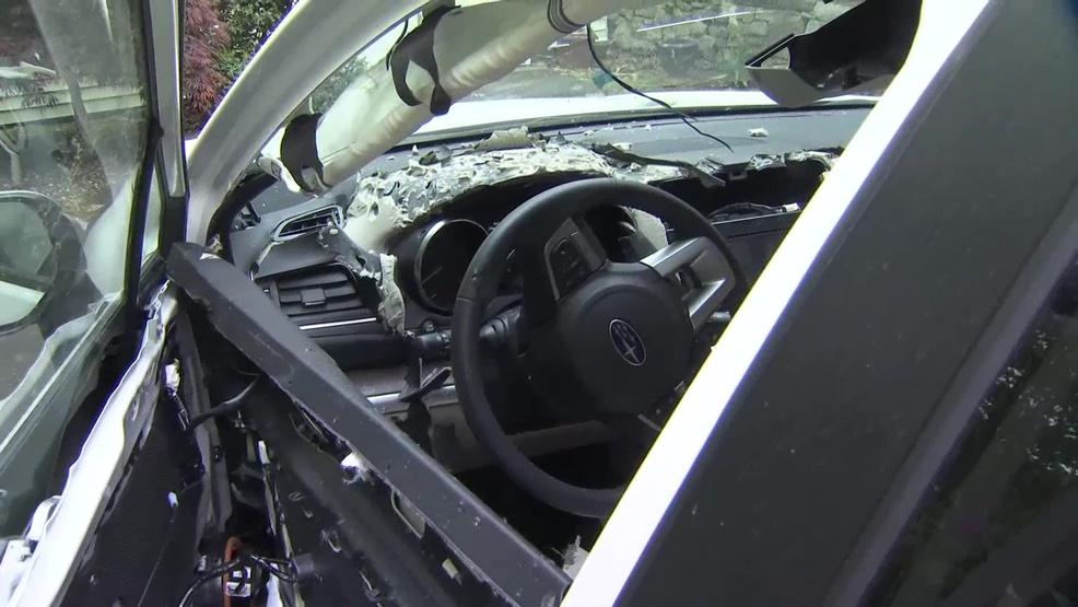 bear destroys connecticut woman 39 s car wjar. Black Bedroom Furniture Sets. Home Design Ideas