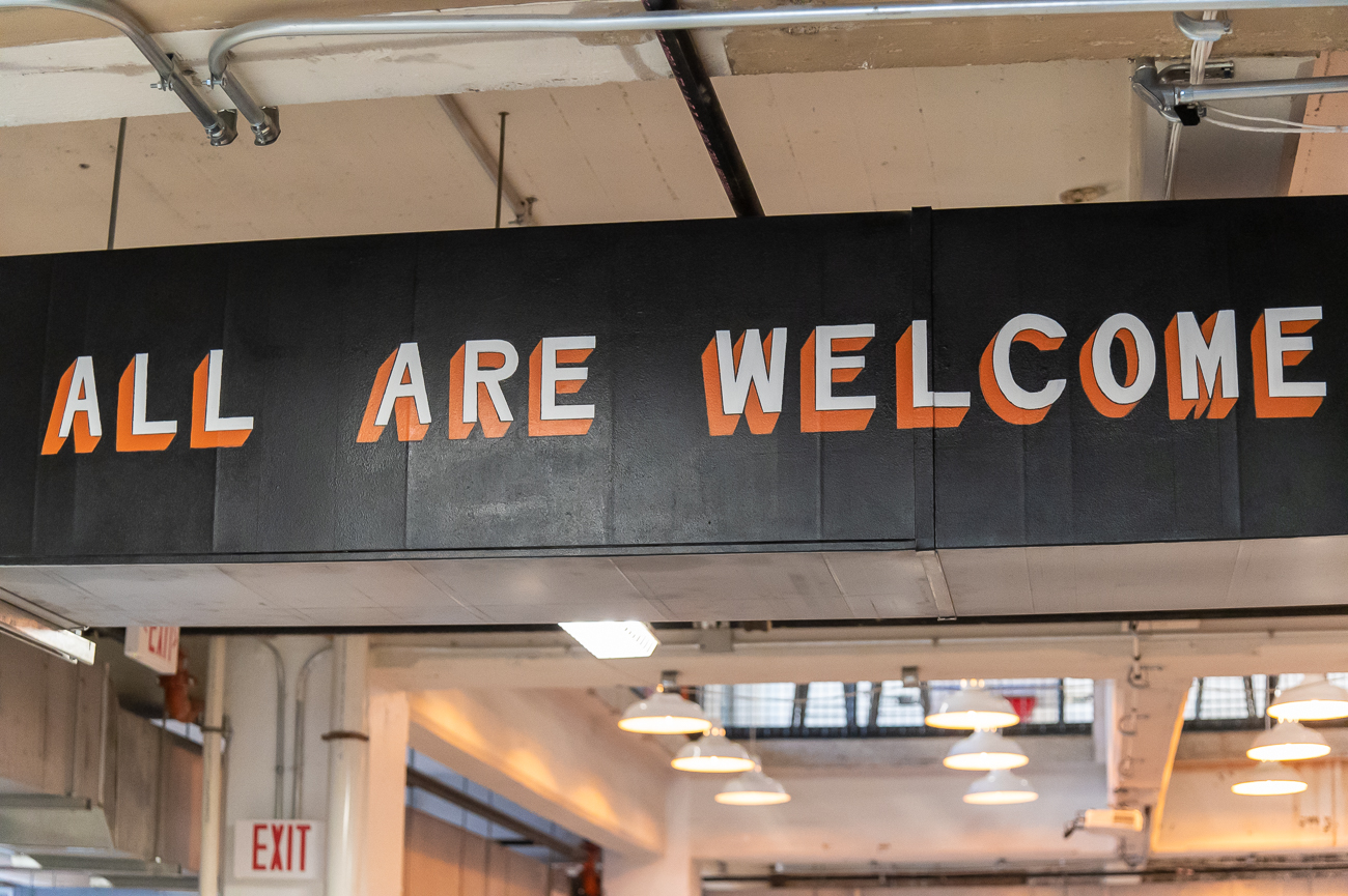 """All Are Welcome""{&nbsp;}/ Image: Phil Armstrong, Cincinnati Refined // Published: 10.21.20<p></p>"