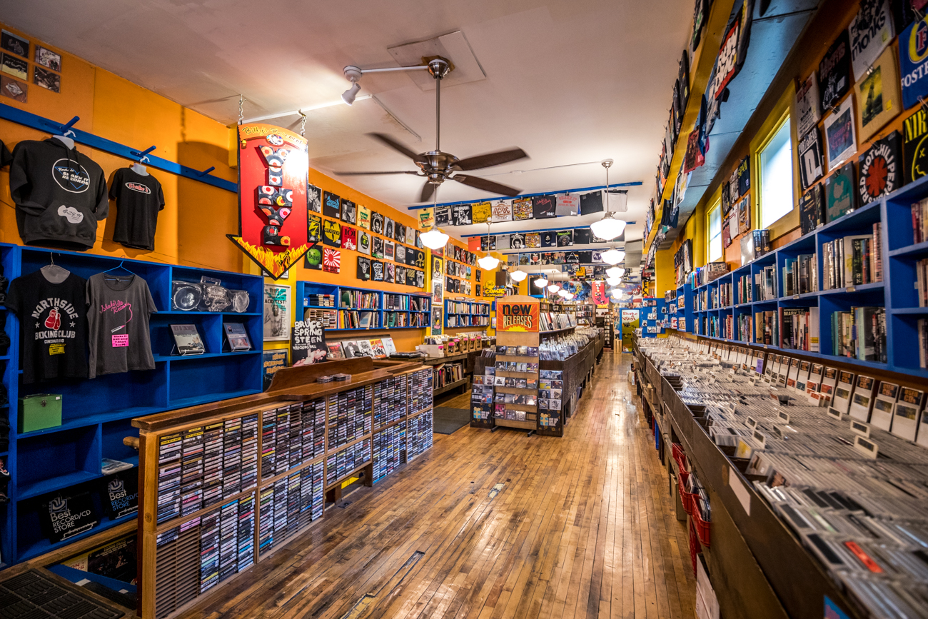 Do you and your friends love music? Cincinnati has a ton of great record shops. Go to one (or several) local stores, each of you buy an album you think the other will like, and exchange. Major bonus points if you end up finding their new favorite. / Image: Catherine Viox // Published: 2.8.20