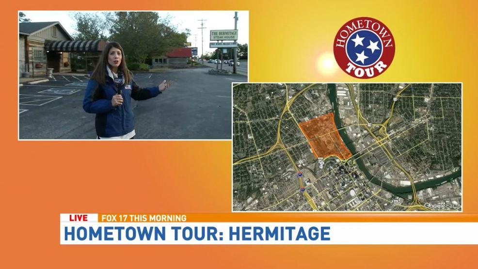 Fox 17 news hometown tour hermitage wztv for Tour hermitage