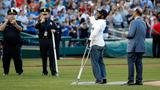Capitol Police officer injured in shooting throws 1st pitch at Congressional Baseball Game