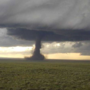 Powerful tornado touches down in Wyoming
