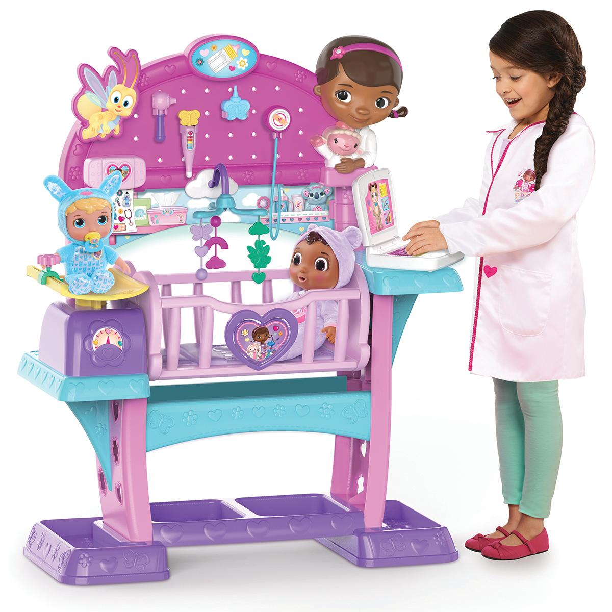 Disney Junior Doc McStuffins Baby All-In-One Nursery/Photo courtesy of the Toy Insider