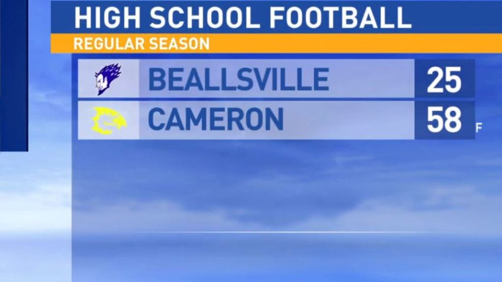10.20.17:  Beallsville at Cameron