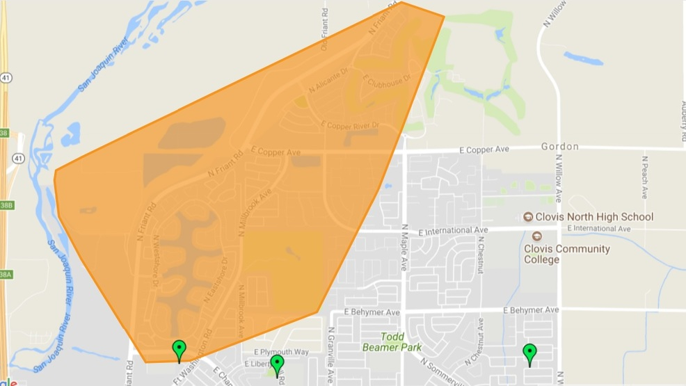 Large North Fresno power outage KMPH