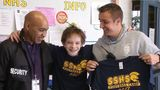 District 186 officers surprise student facing hardships