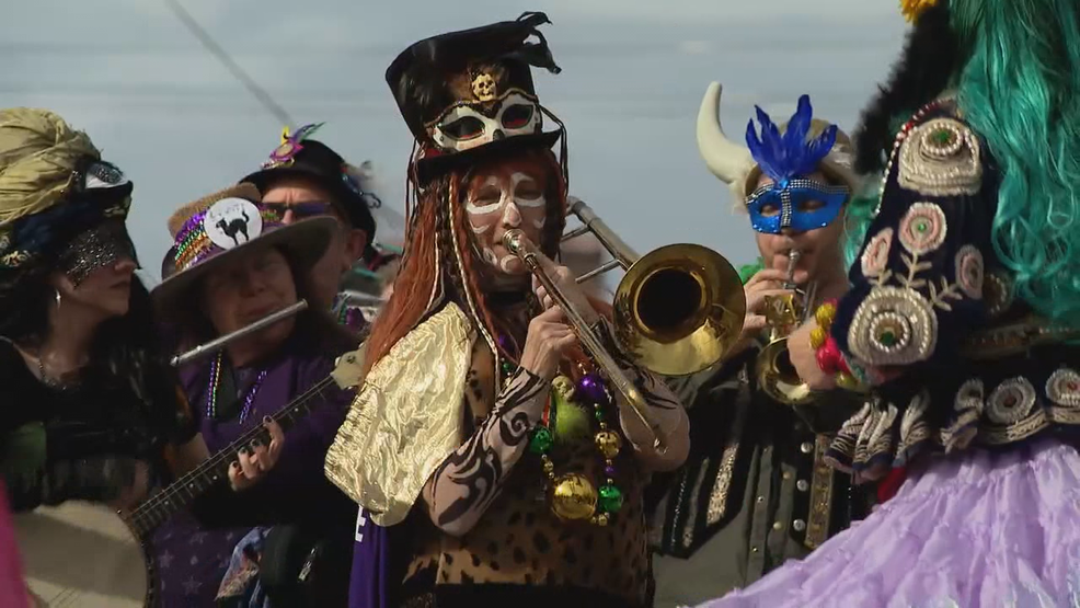 Asheville's annual Mardi Gras parade brings the bayou to the mountains