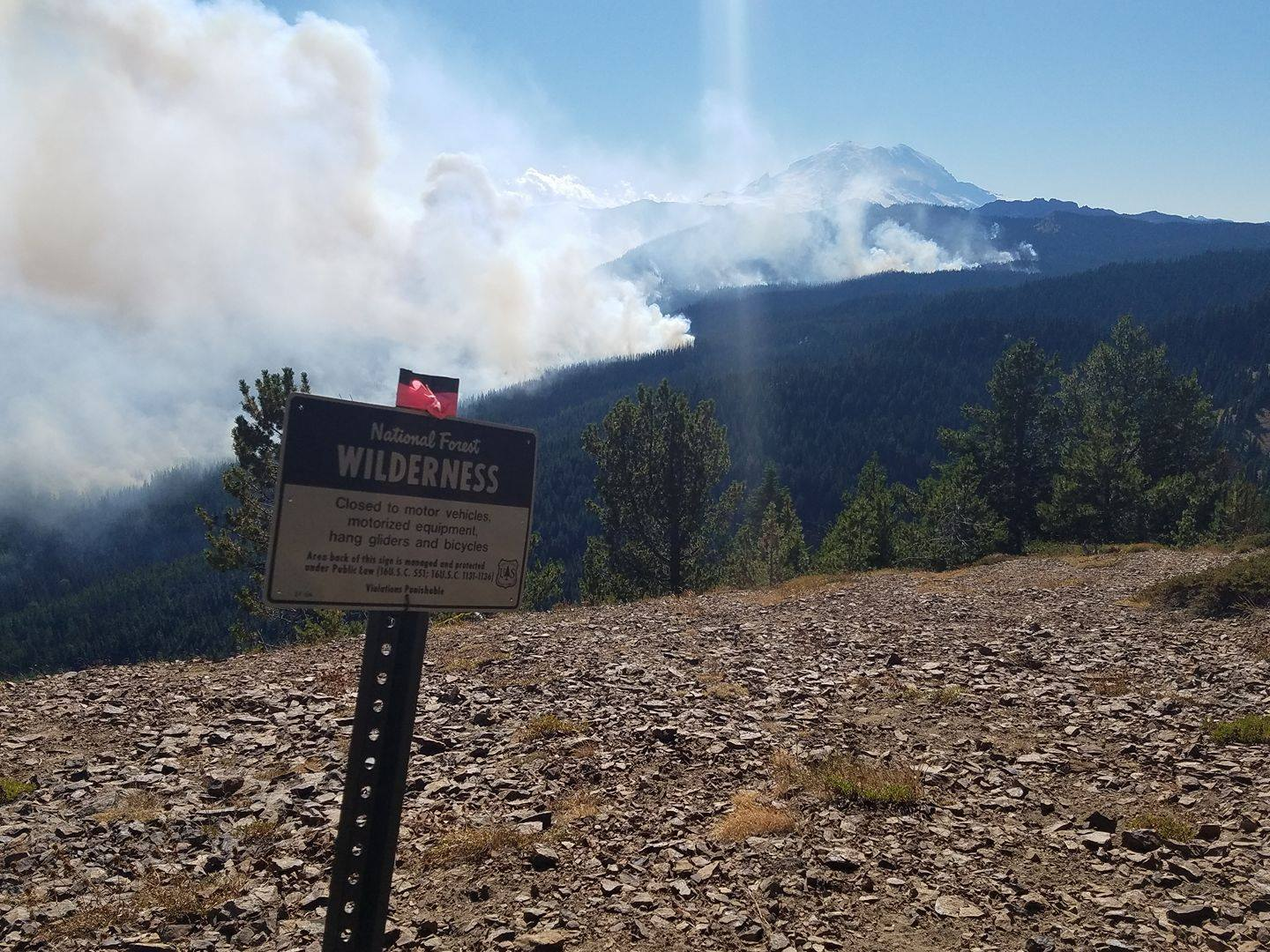 Photo: Norse Peak Fire Info, Facebook