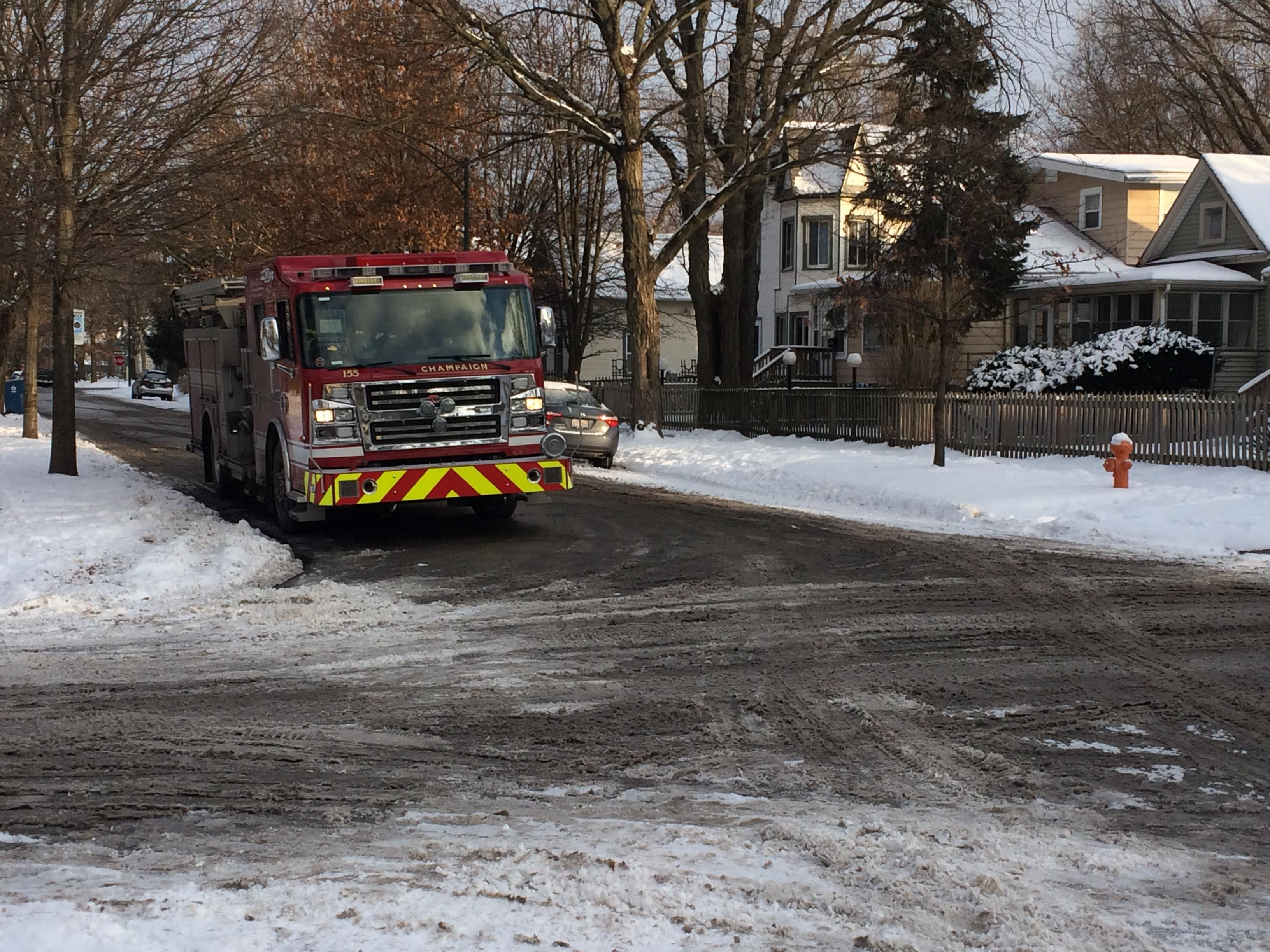 2 Champaign homes evacuated due to gas leak (Senait Gebregiorgis)