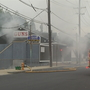 Fire hits Pawtucket business