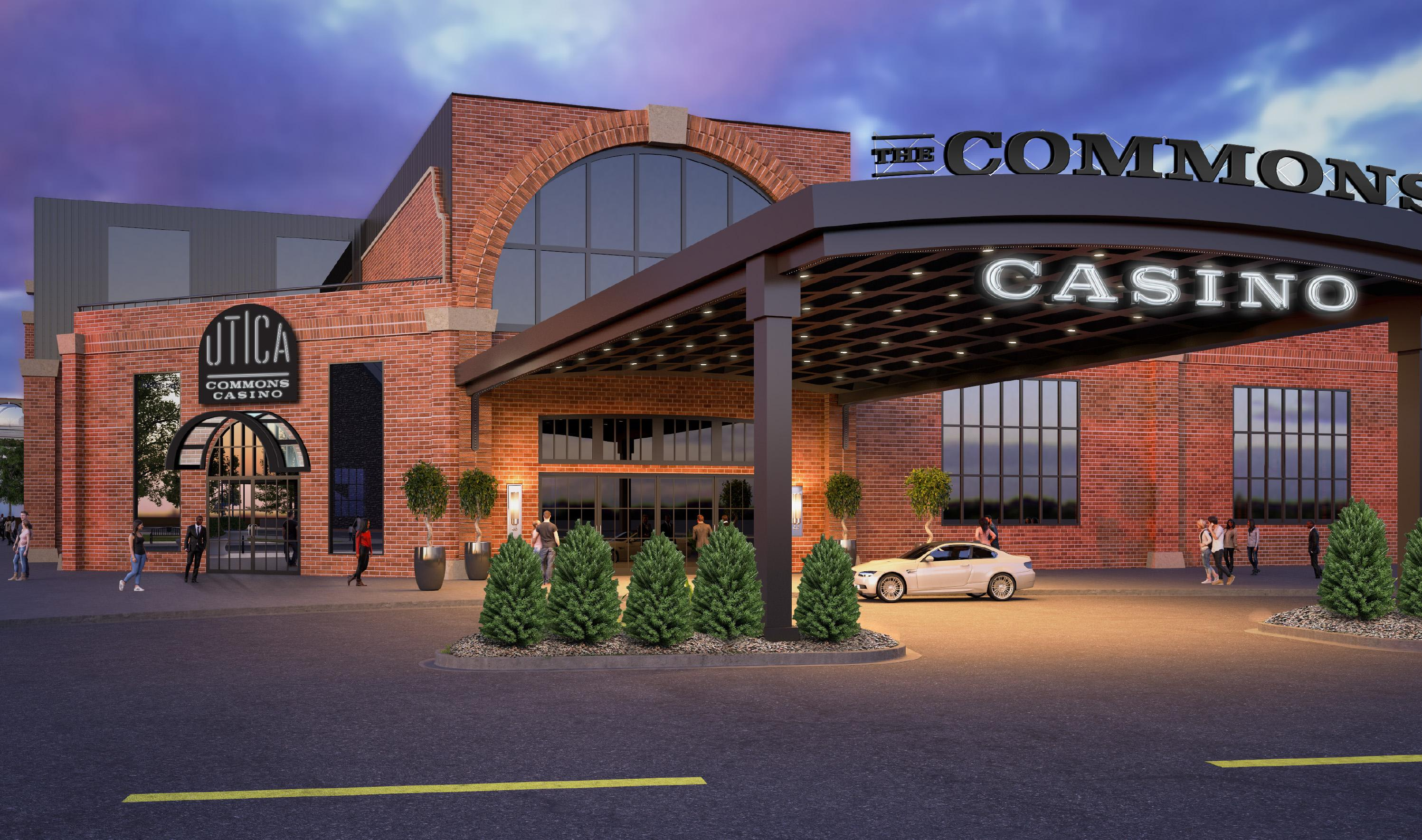 Rendering of proposed Utica Commons Casino in Utica (Photo courtesy of Utica Comets)<p></p>