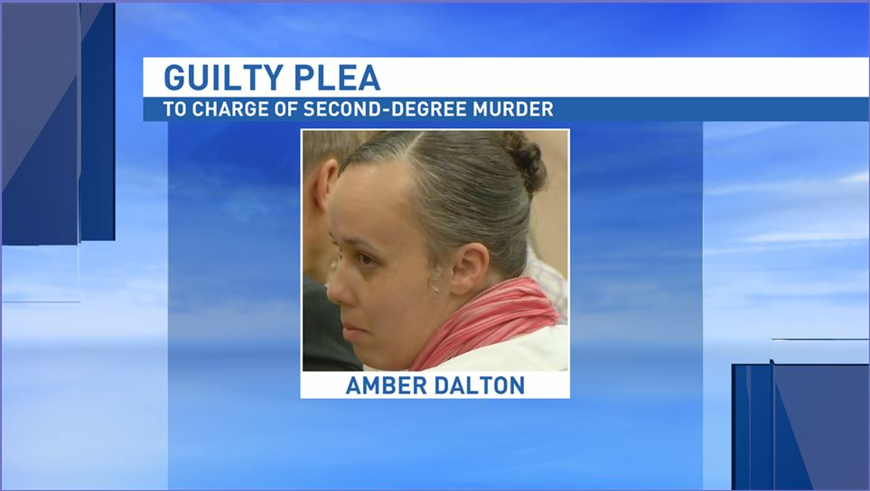 "Amber Dalton was given a life sentence in prison, but her conviction was reversed by the N.C. Court of Appeals in September 2015. The N.C. Supreme Court affirmed that ruling in December, 2016. ""The guilty plea resolves all legal issues raised by the Court of Appeals and obviates the need for a second jury trial,"" said District Attorney Greg Newman. (Photo credit: WLOS staff)"