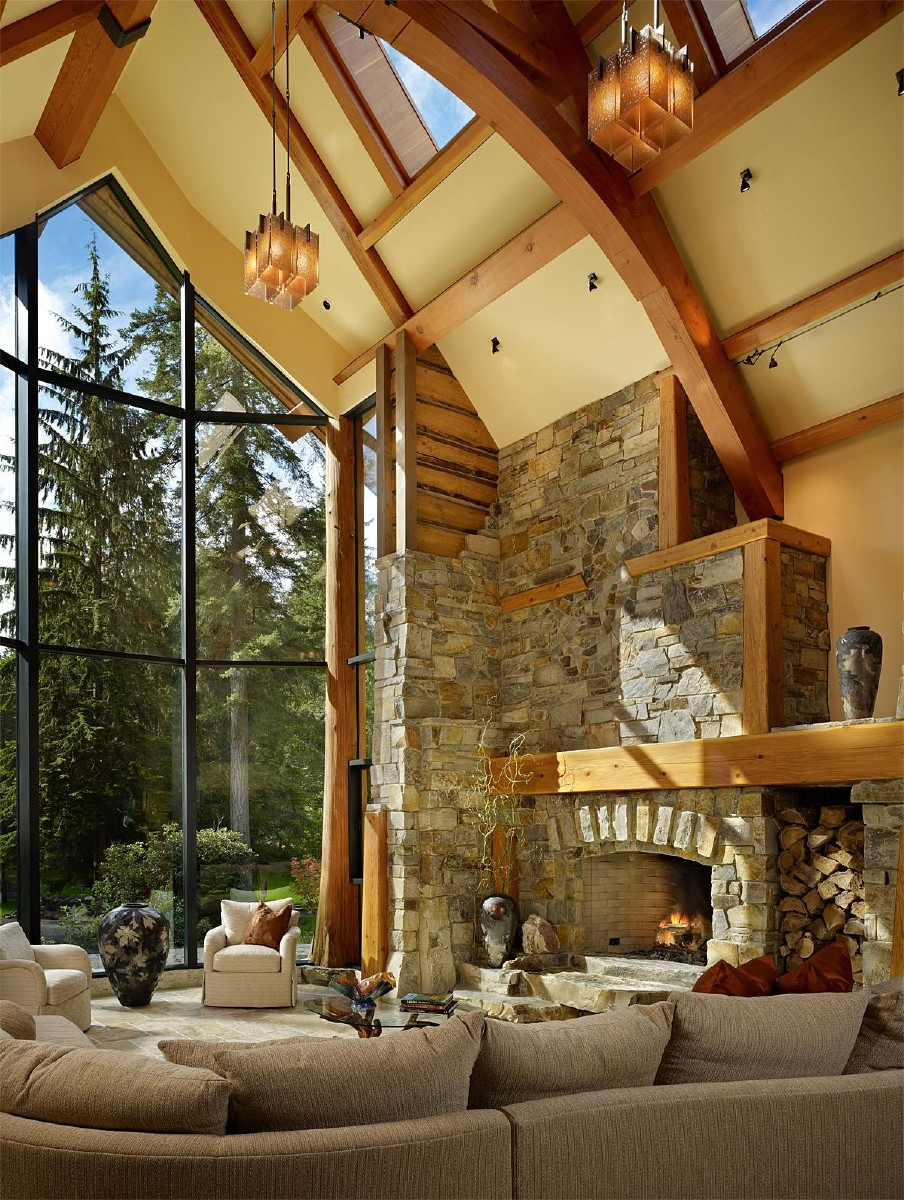 This Cedar Haven, Carnation, WA project was completed by Gelotte Hommas and cost $3 million.   (Image: Cedar Haven / Porch.com)