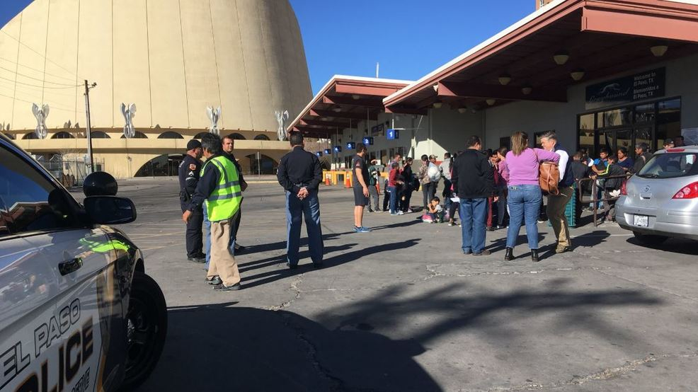 ICE releases more migrants at bus station in downtown El