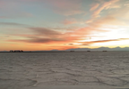 Driving around on the Bonneville Salt Flats during sunset. (Adam Forgie, KUTV) (8).png