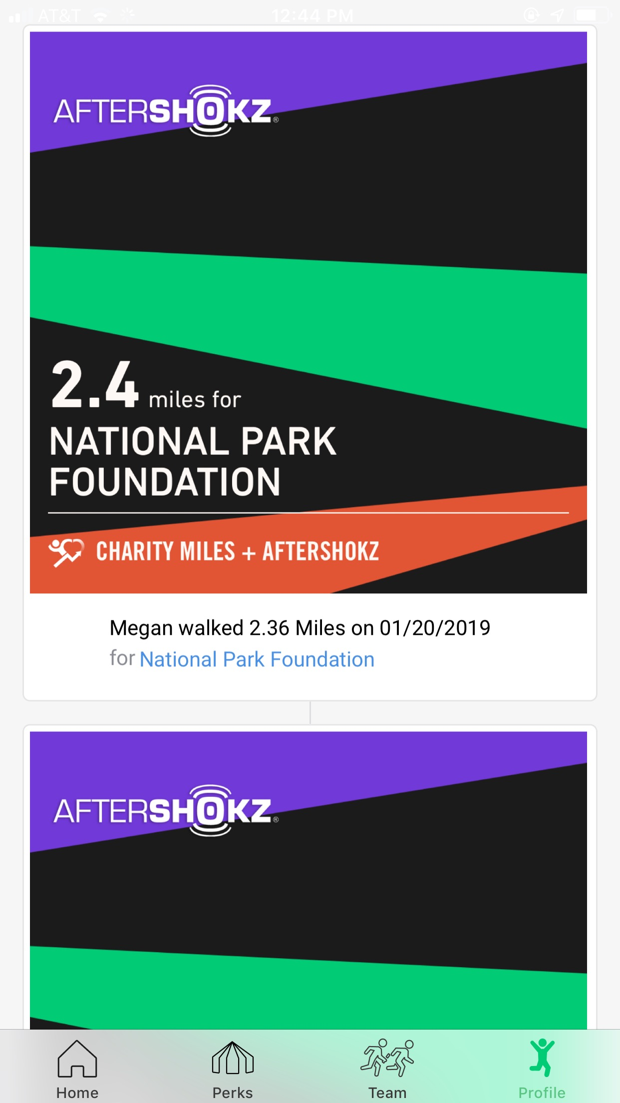 Charity Miles tracks your daily workouts, donating $0.25 per mile for walking or running and $0.10 per mile for biking, to a charity of your choice.