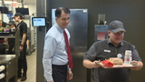 Walker visits local McDonald's for 'Take Your Legislator to Work Day'