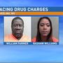 Two arrested on drug charges after traffic stop in Wheeling