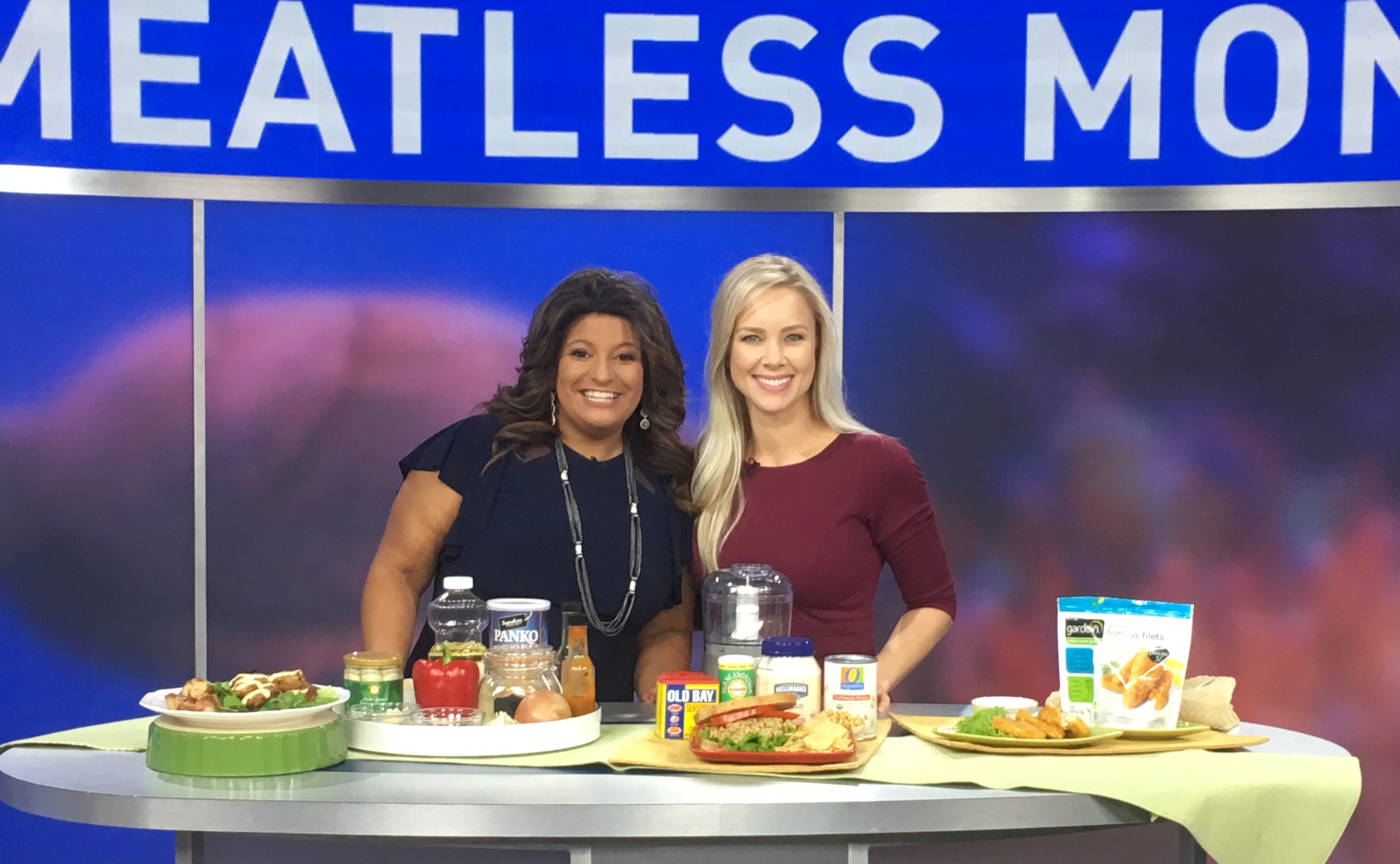 National Seafood Month, gone meatless! (ABC7)