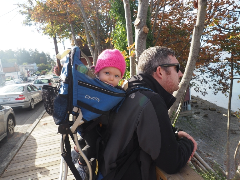 Backpack was a lifesaver on this trip! (Image: Kate Neidigh)