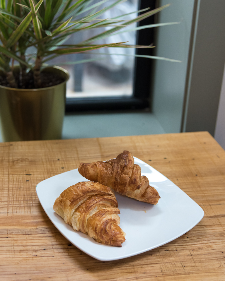 Butter croissant from Mainwood Pastry / Image: Phil Armstrong, Cincinnati Refined // Published: 3.12.18