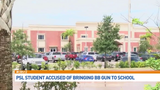 Student accused of bringing BB gun to school, holding gun to classmate's head