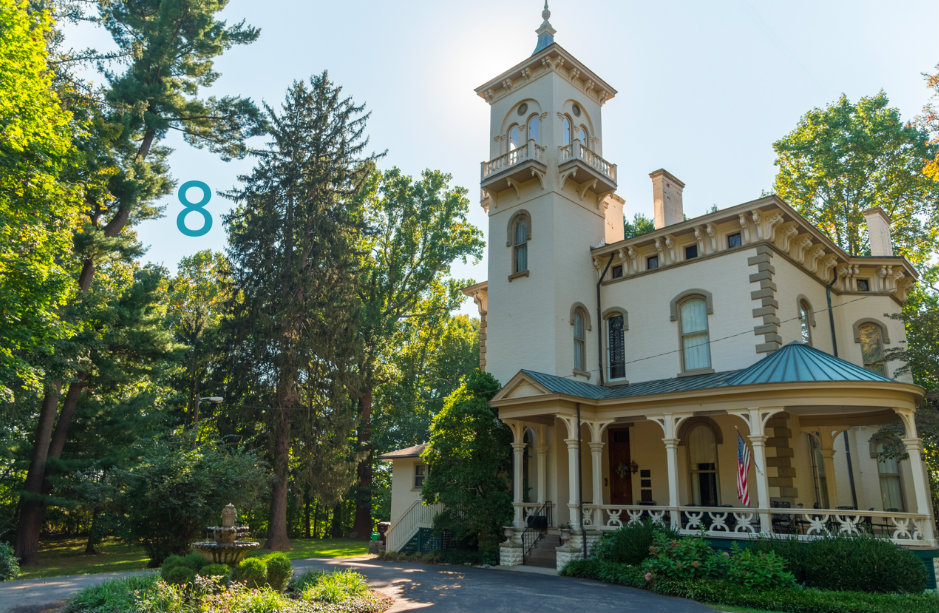 #8 - There's a hidden Victorian mansion in Milford that's really (really) cool. It's called Promont House. / Image: Phil Armstrong, Cincinnati Refined