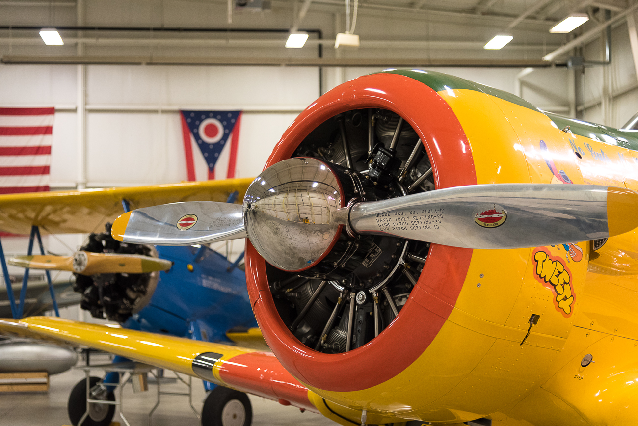The engine of a North American Aviation AT-6D Texan / Image: Phil Armstrong, Cincinnati Refined // Published: 9.6.17