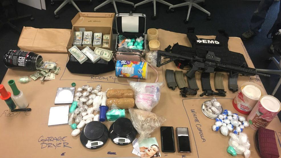 Seattle police bust major drug trafficking ring, seize