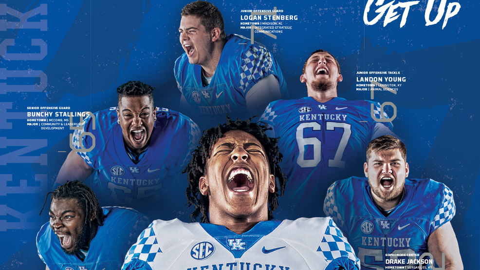 Kentucky football schedule posters unveiled | WDKY