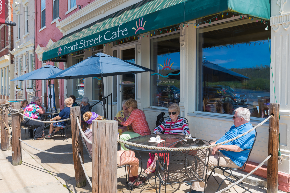 Front Street Cafe is a charming coffee shop and bistro located at 120 Front Street (45157). / Image: Sherry Lachelle Photography // Published: 5.22.17