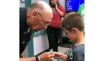 'I love police' KPD surprises 8-year-old boy for his act of kindness