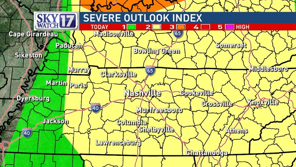 Code Red Warning Strong Tornadoes Possible For Parts Of Middle
