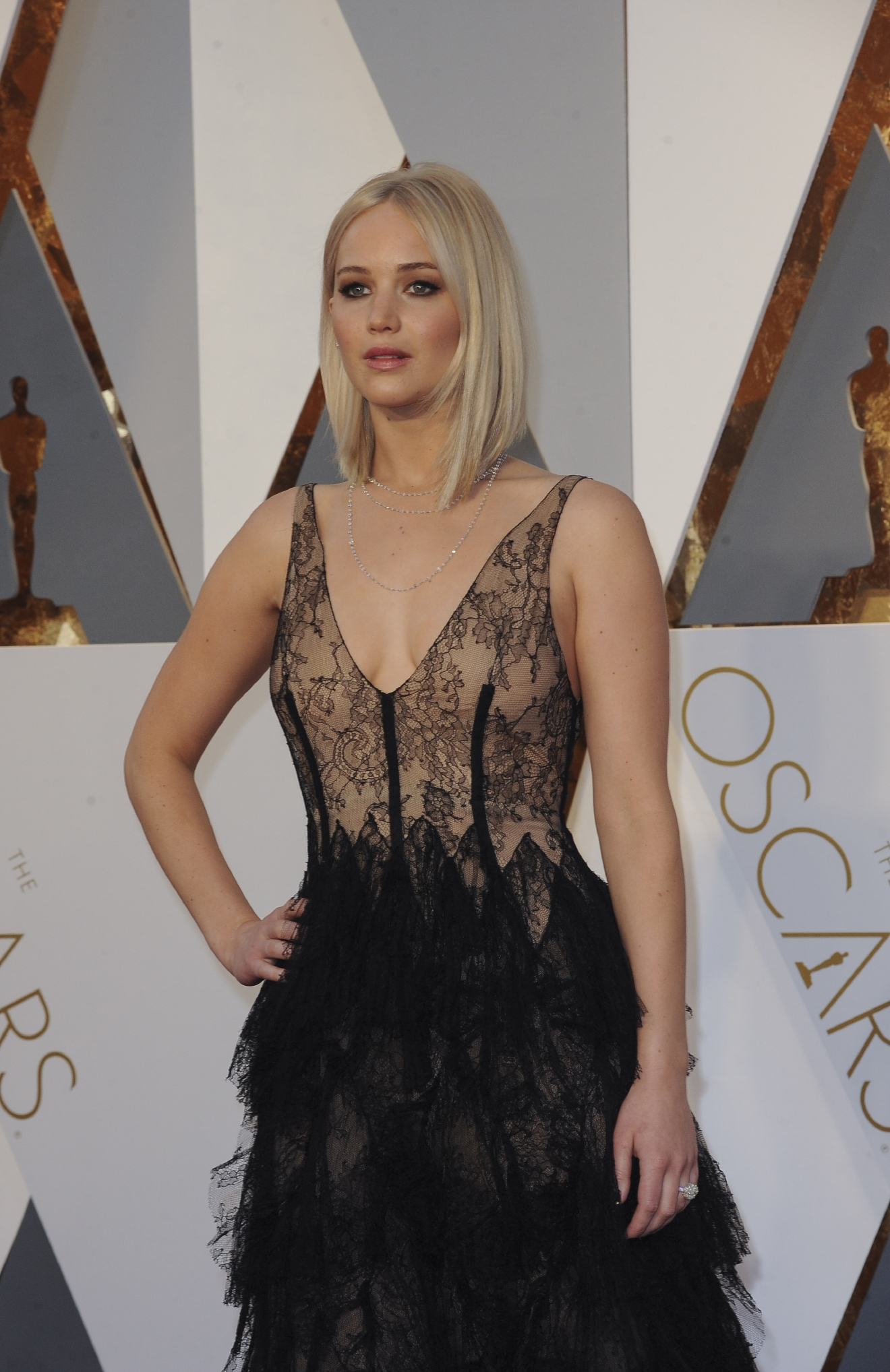 The 88th Annual Academy Awards Arrivals  Featuring: Jennifer Lawrence Where: Los Angeles, California, United States When: 29 Feb 2016 Credit: Apega/WENN.com