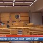 REALITY CHECK: Criminal case dismissed after officer fails to show up in court twice