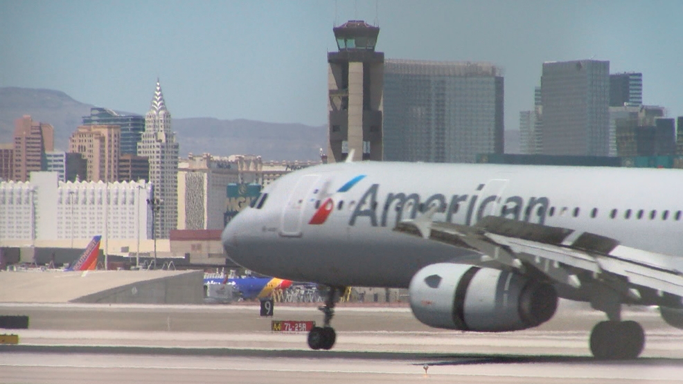 Commercial flight makes emergency landing at Nellis AFB due to low fuel