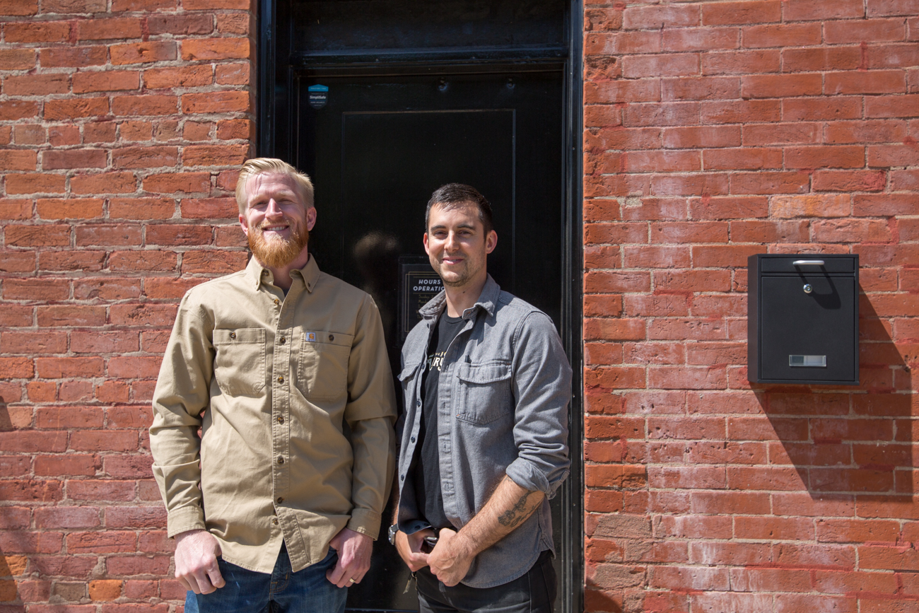 Co-owners Rhett Harkins and Andy Grear / Image: Catherine Viox // Published: 6.24.19