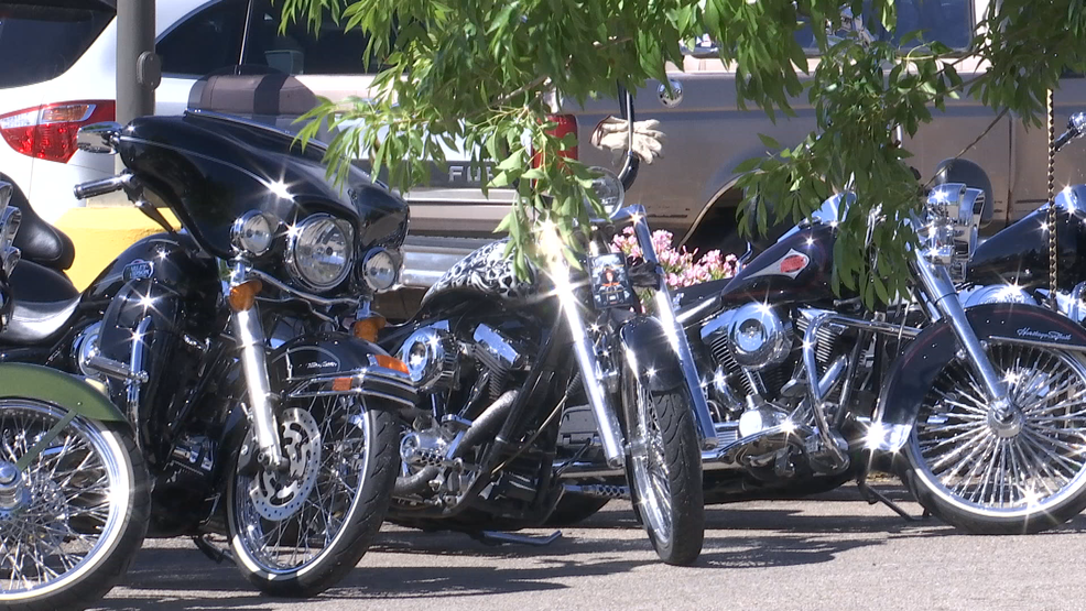 Hundreds of bikers attend Bandidos chapter president's