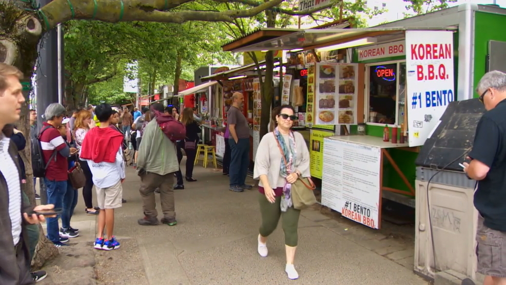 Fundraiser underway to help relocate Alder Street Food Cart Pod