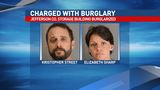 Man and woman charged with burglary of storage building in Jefferson Co.