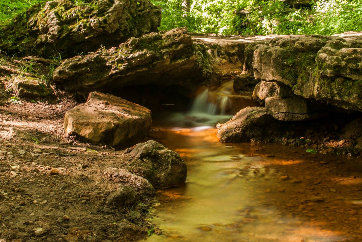 "Glen Halen Nature Preserve: an absolute ""must-do"" for any visit to Yellow Springs. [Image courtesy of Yellow Springs Chamber]"