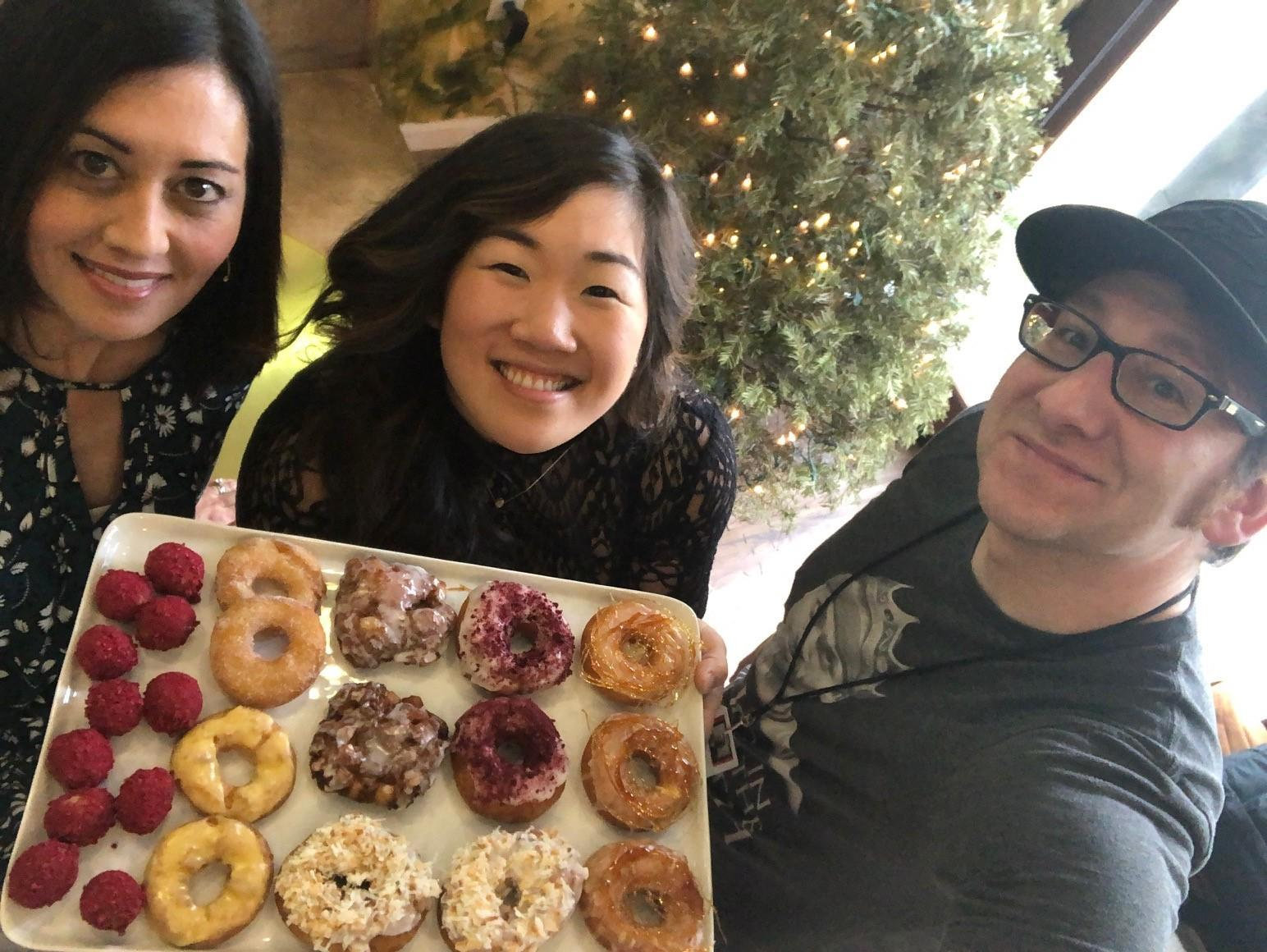 "Seattle's Raised Doughnuts offers classics, and ""raised"" specials that range from seasonal favorites to unique flavor combinations. Owner Mi Kim and her business partner Seattle restaurant owner and entrepreneur I-Miun Liu opened their Central District location last June.{ }(Courtesy Seattle Refined"