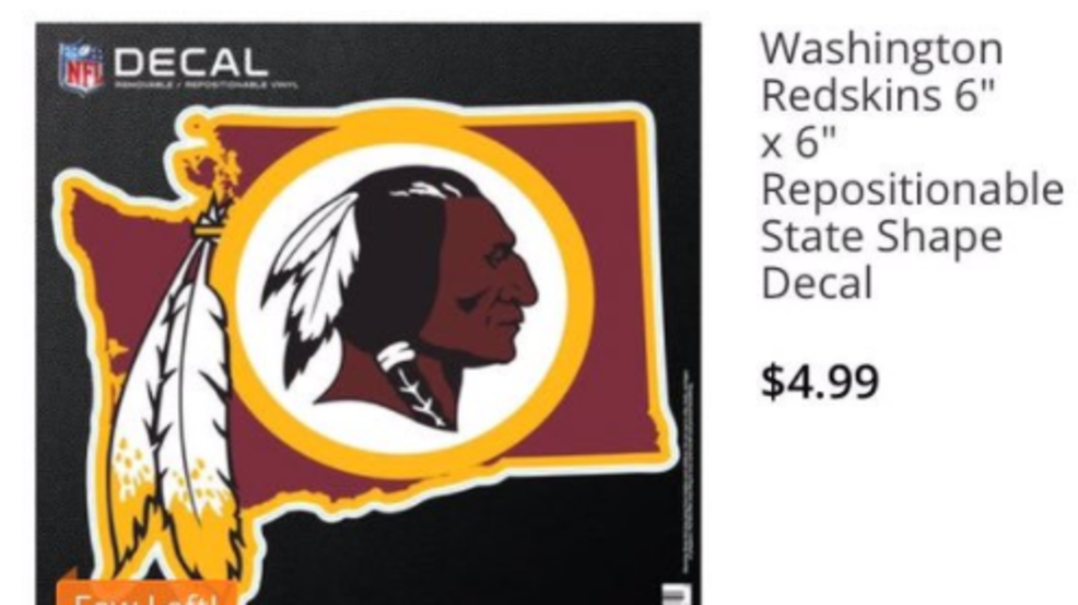 Oops nfl shop reportedly sold license plate that had the redskins nfl shop reportedly sold license plate that had the redskins in the wrong washington wjla voltagebd Image collections