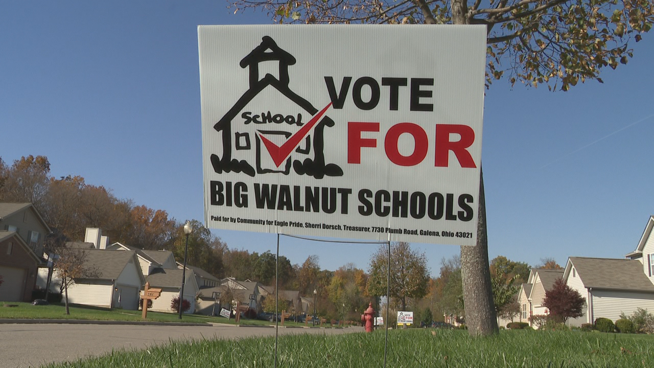Big Walnut Local Schools leaders are going to voters to ask for money to help create more space to eliminate overcrowding in the rapidly-growing school district. (WSYX/WTTE)