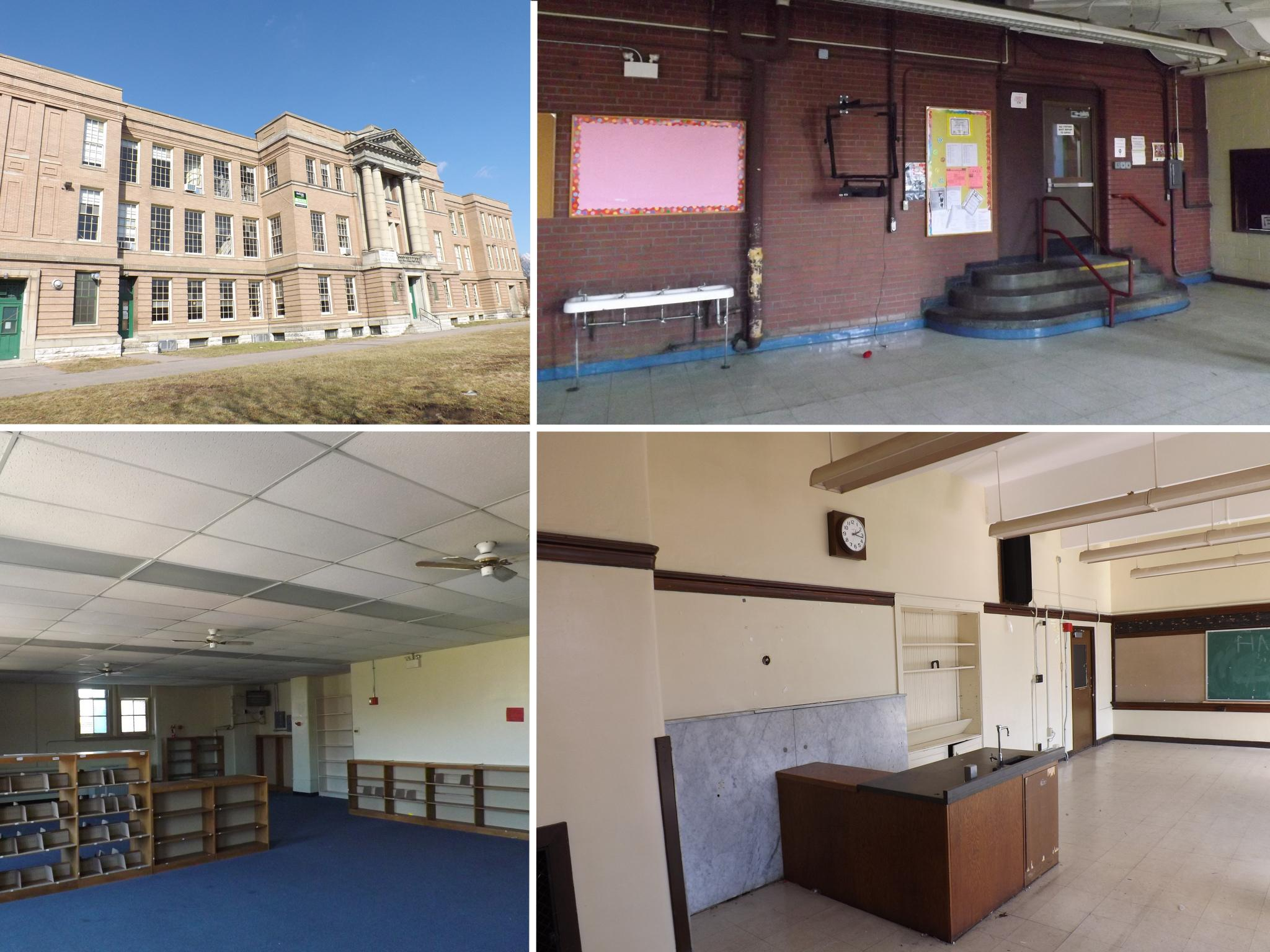 KIRBY SCHOOL APARTMENTS (Before) / ADDRESS: 1710 Bruce Avenue (45223) / CREDIT: $600,000 / PREVIOUSLY: The Kirby Road School / Images courtesy of the Ohio Department of Taxation, CC by 2.0, with changes
